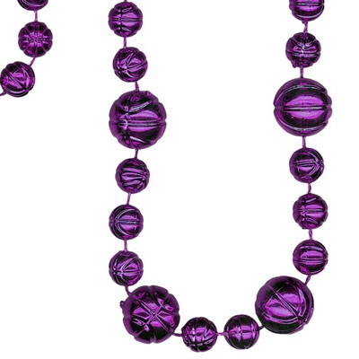 Basketball Shaped Combo Mardi Gras Sportbeads®